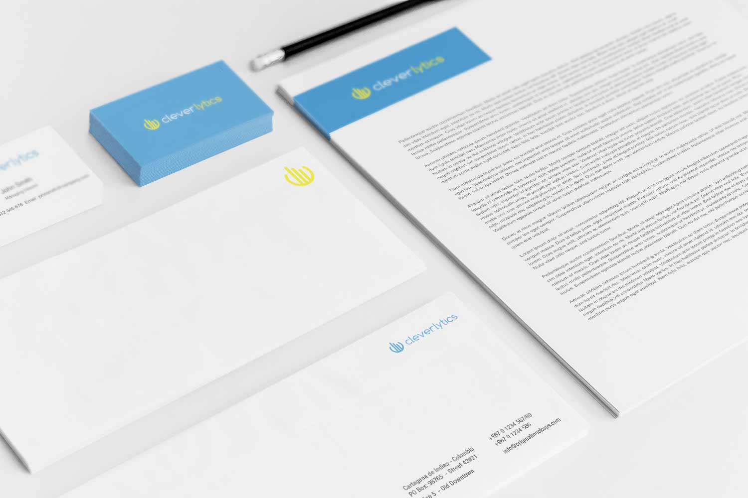 Sample branding #3 for Cleverlytics