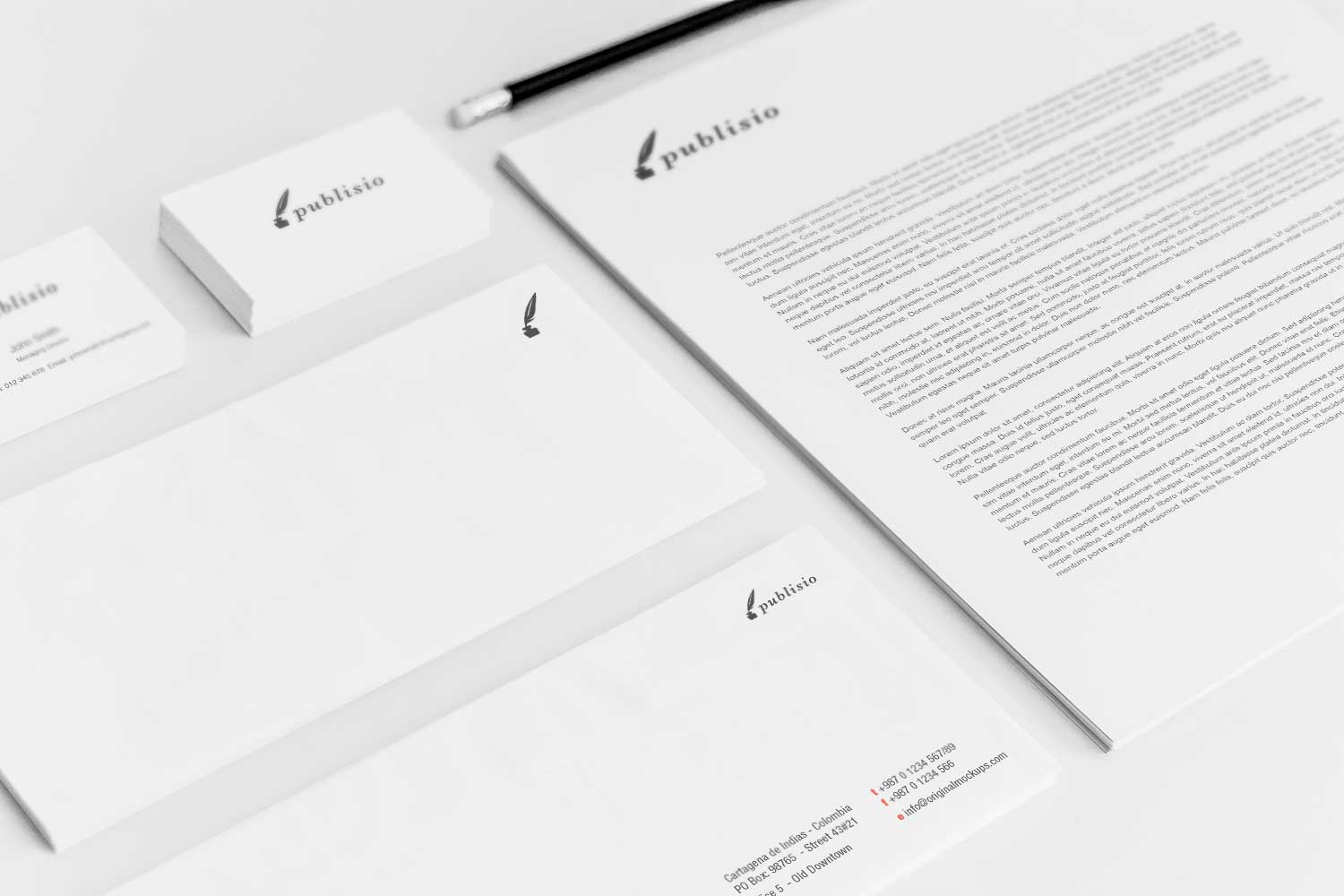 Sample branding #3 for Publisio