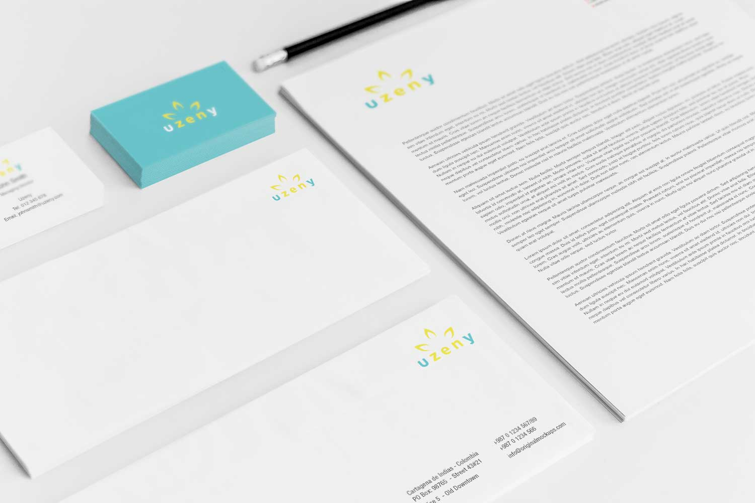 Sample branding #3 for Uzeny