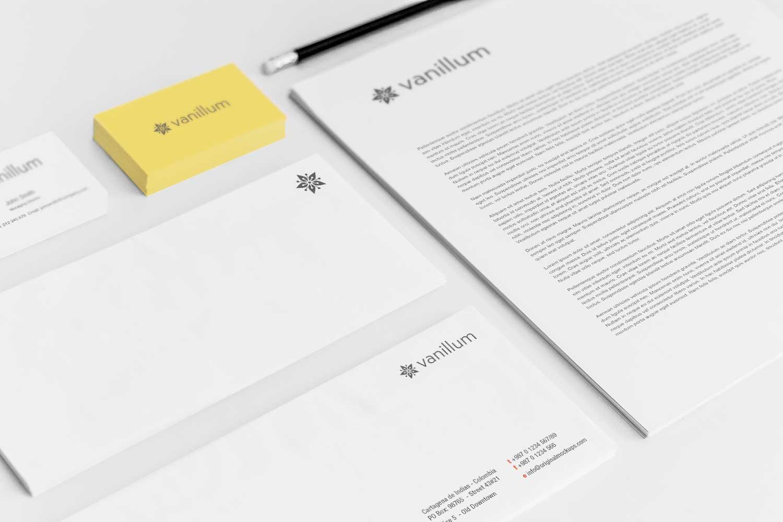 Sample branding #3 for Vanillum