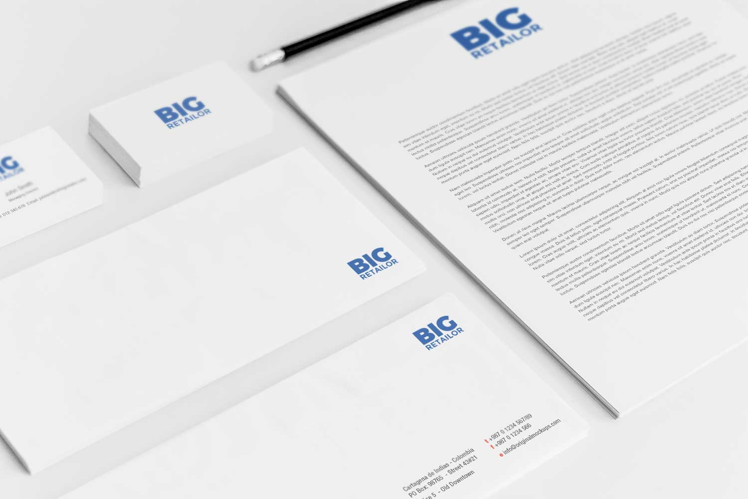 Sample branding #3 for Bigretailor