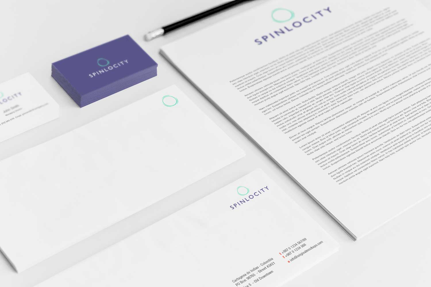 Sample branding #3 for Spinlocity