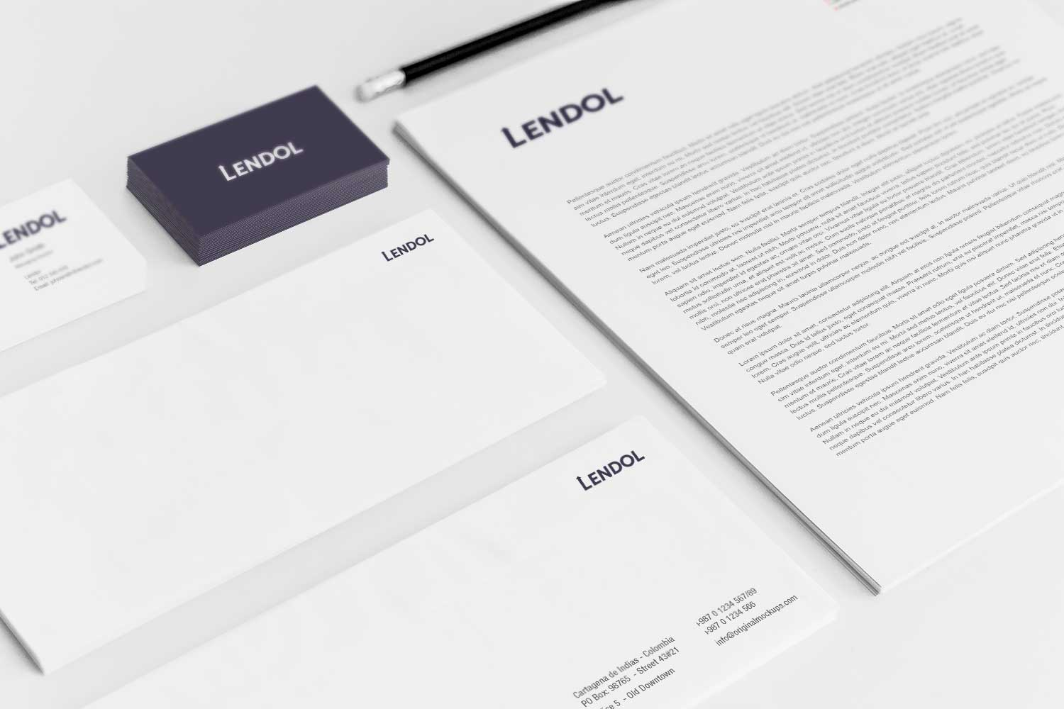 Sample branding #3 for Lendol
