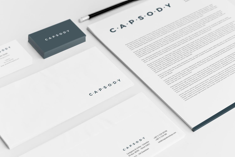 Sample branding #3 for Capsody