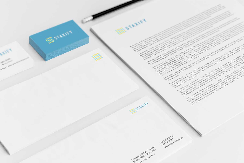 Sample branding #3 for Staxify