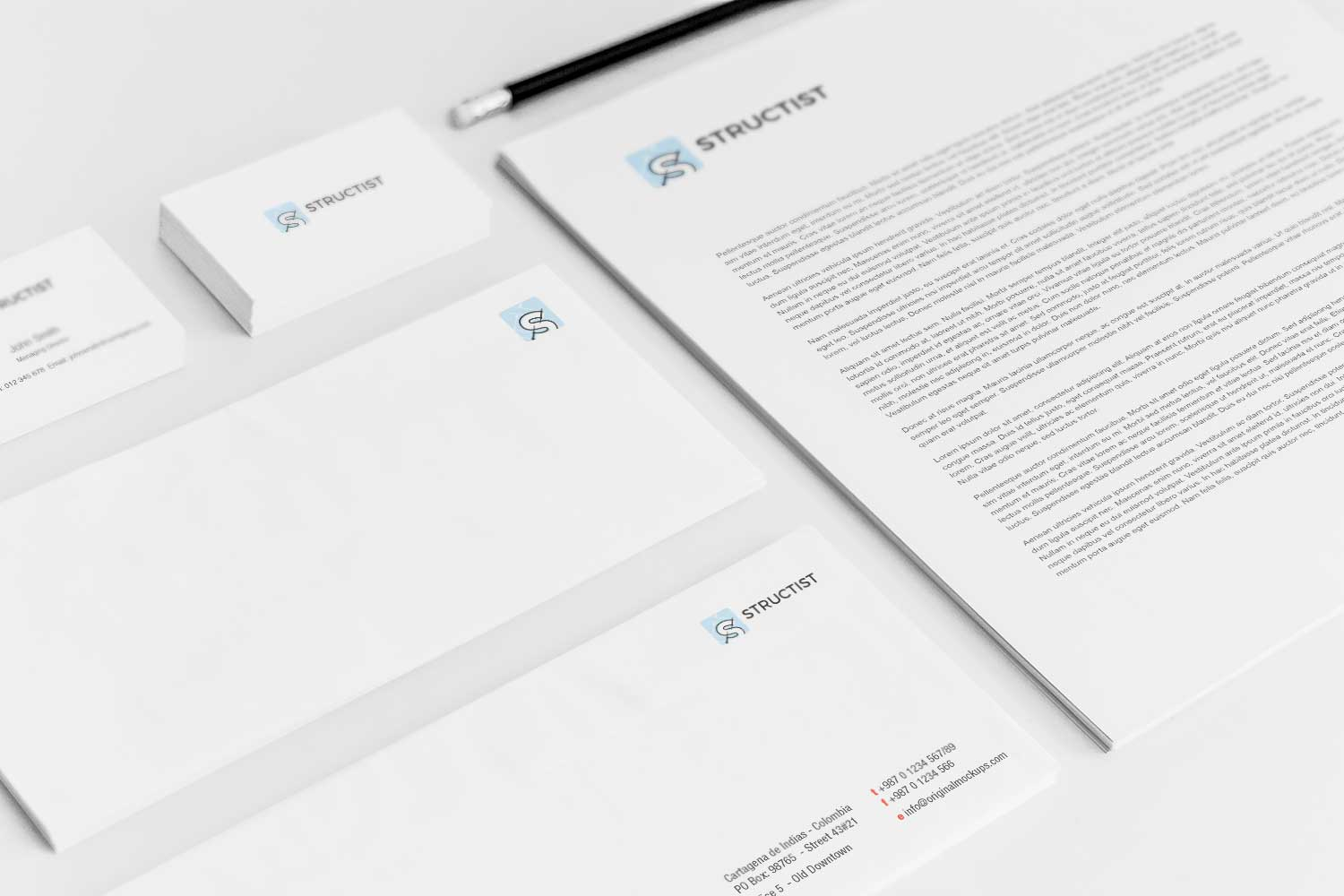 Sample branding #3 for Structist