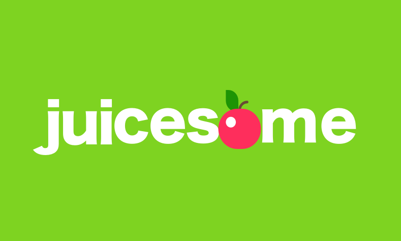 Juicesome - Distinctive brand name with juicing connotations
