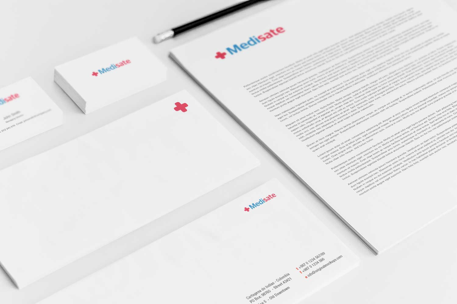 Sample branding #3 for Medisate