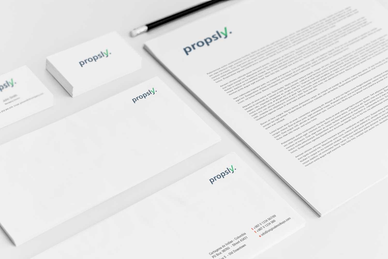 Sample branding #3 for Propsly
