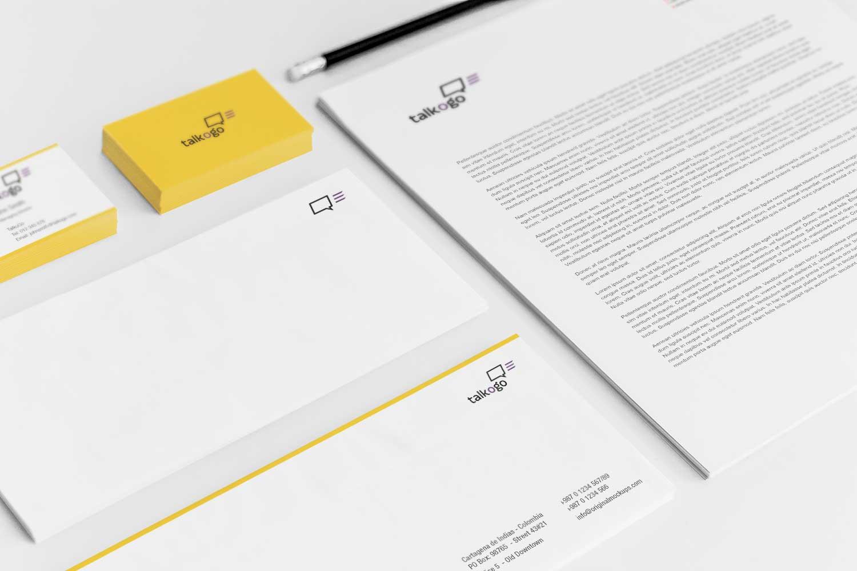 Sample branding #3 for Talkogo