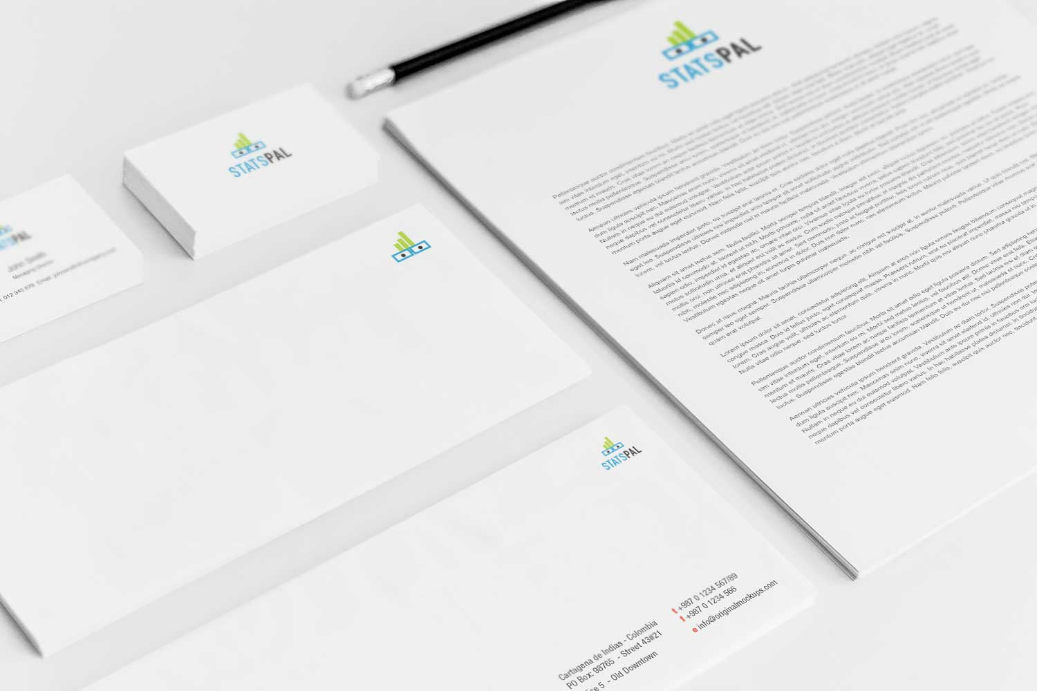 Sample branding #3 for Statspal