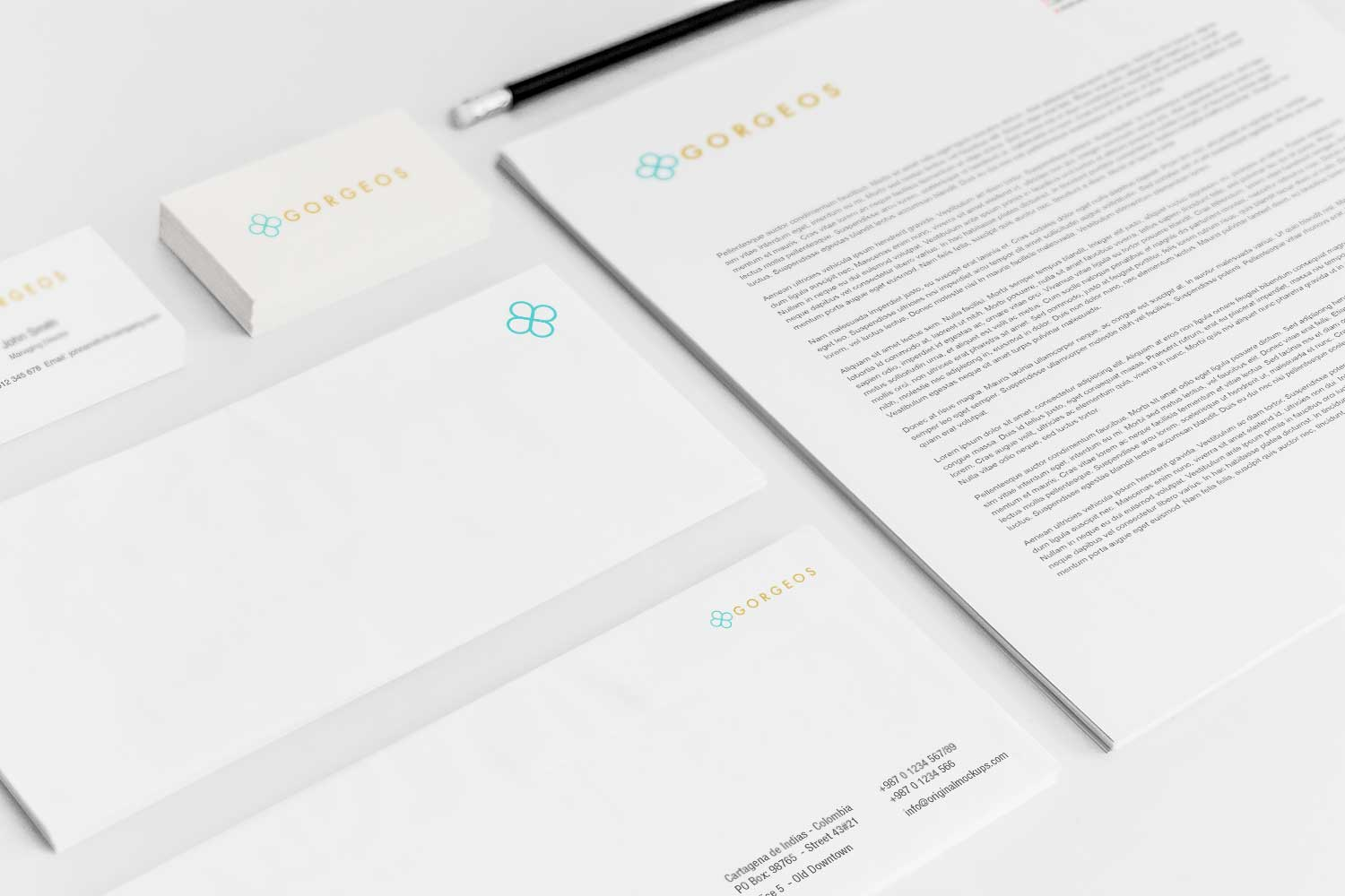 Sample branding #3 for Gorgeos