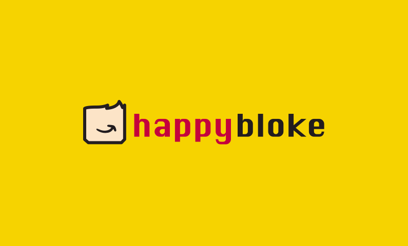Happybloke - Appealing business name for sale