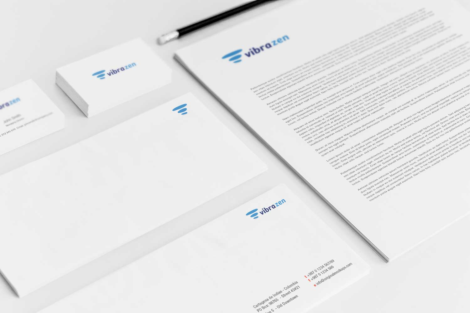 Sample branding #3 for Vibrazen