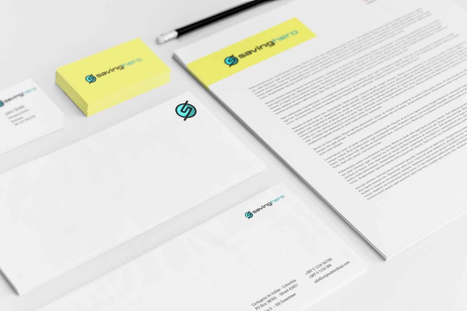 Sample branding #3 for Savinghero
