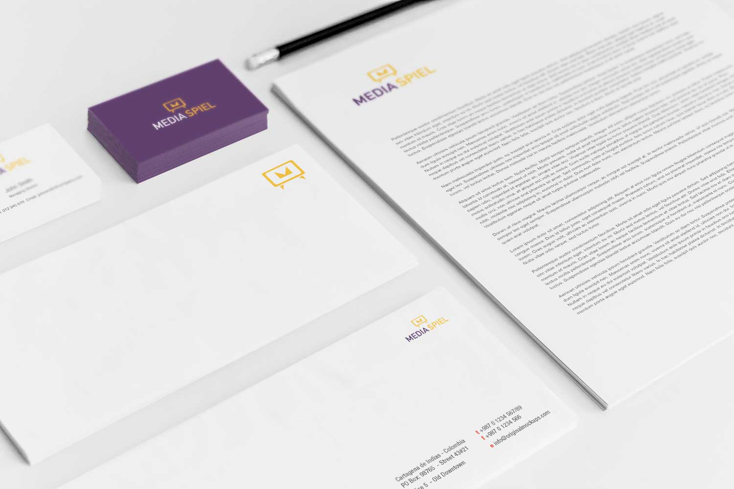 Sample branding #3 for Mediaspiel