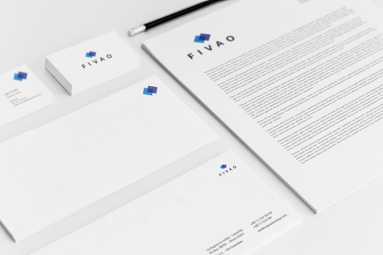Sample branding #3 for Fivao
