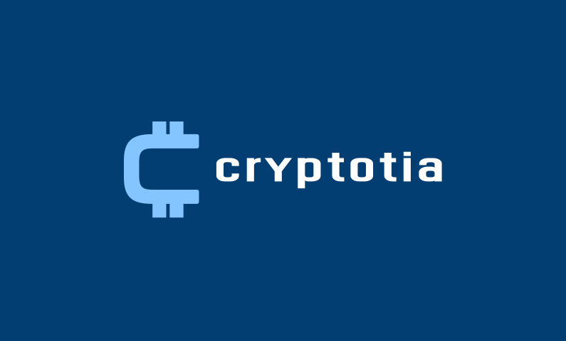 Cryptotia - Cryptocurrency brand name for sale