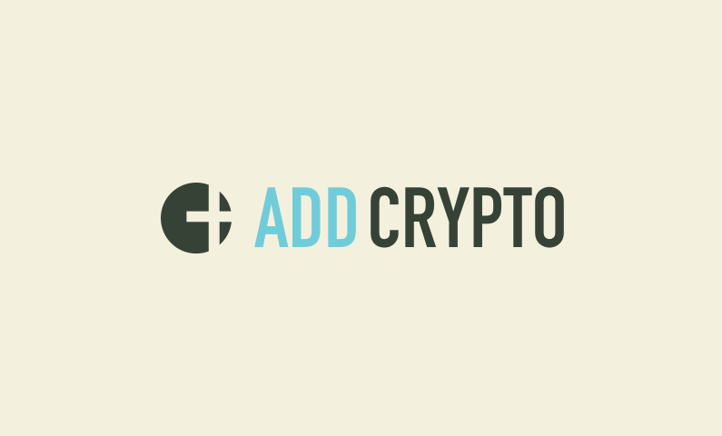 Addcrypto - Cryptocurrency business name for sale