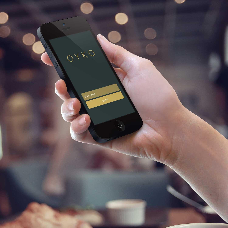 Sample branding #1 for Oyko