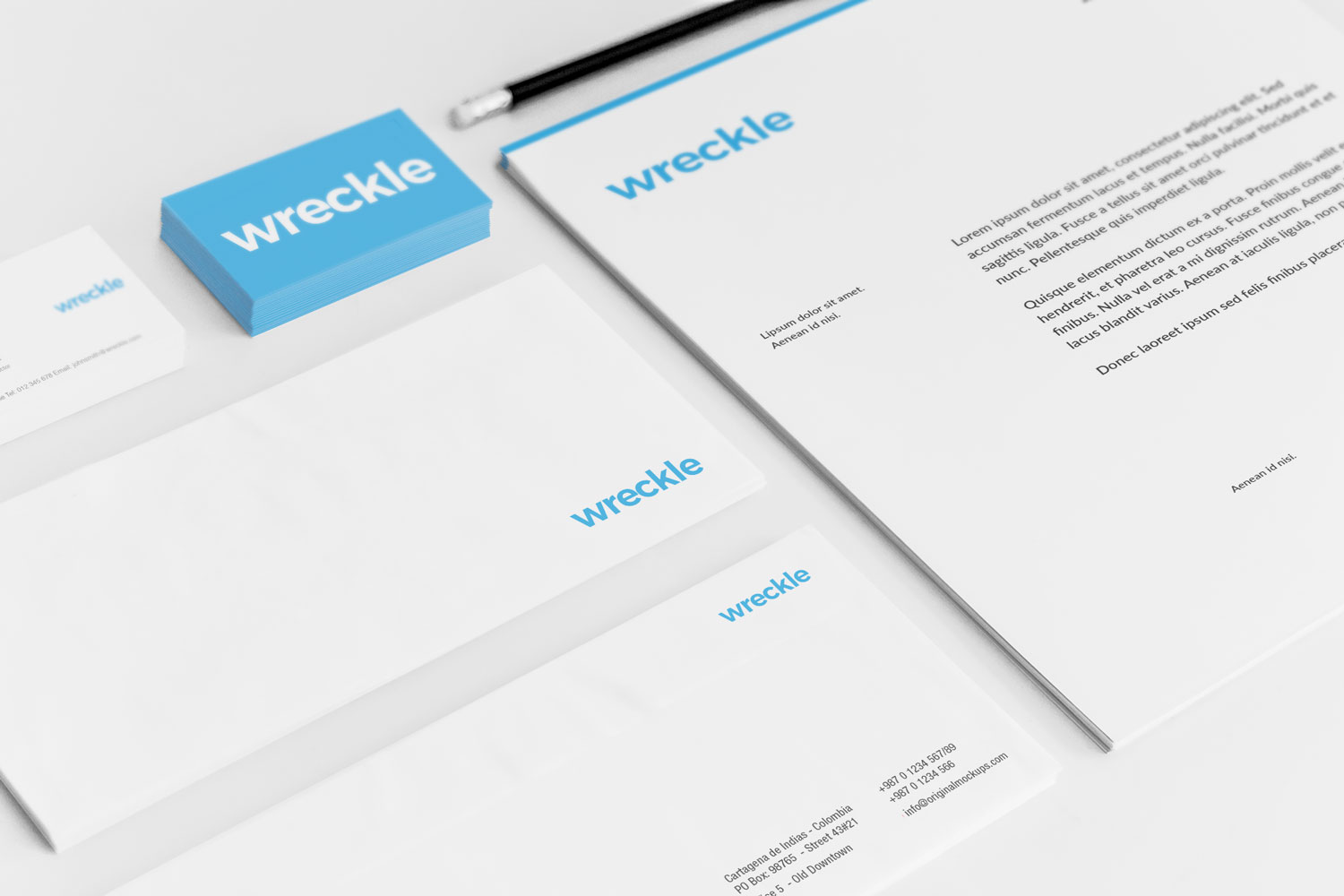 Sample branding #3 for Wreckle