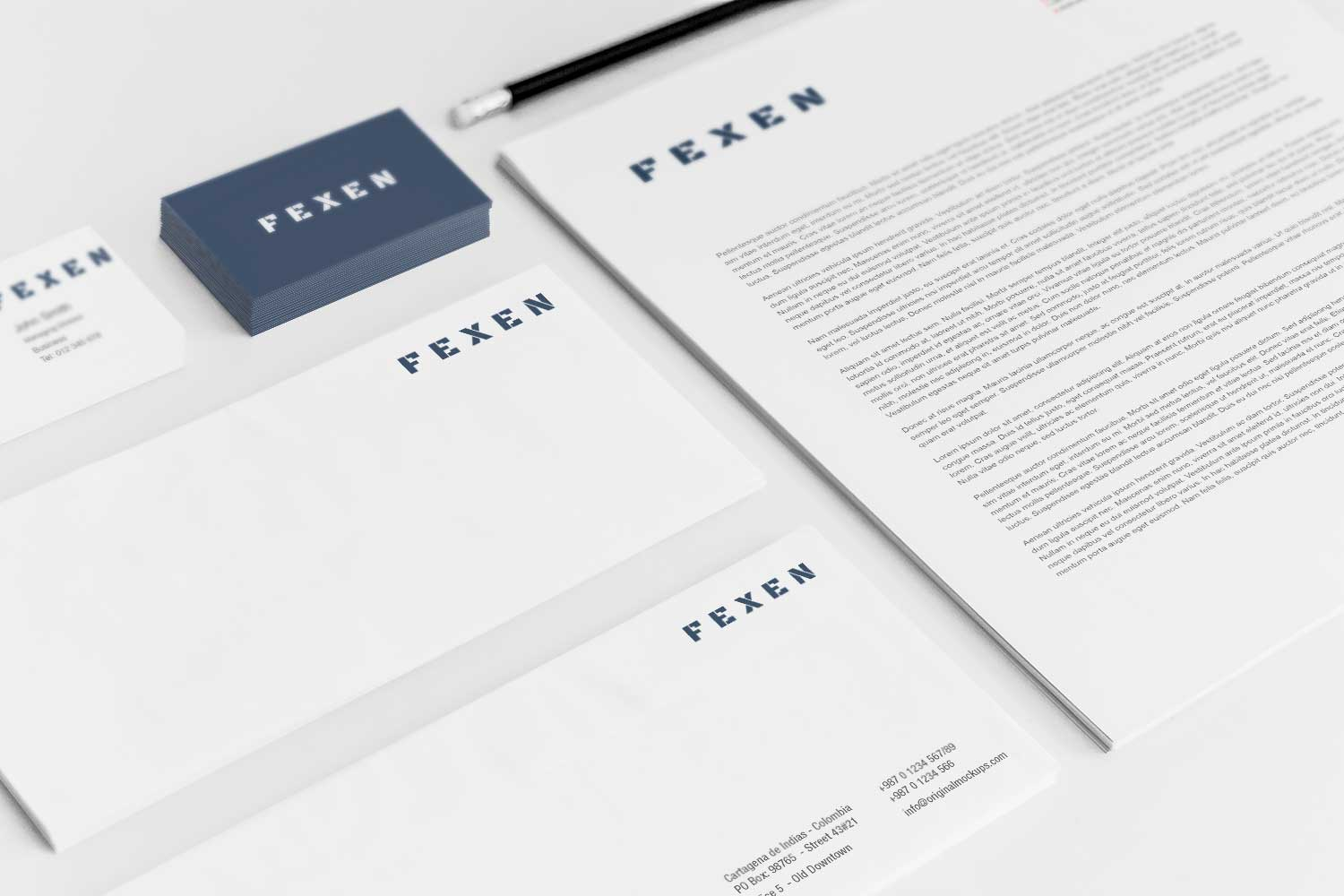 Sample branding #3 for Fexen