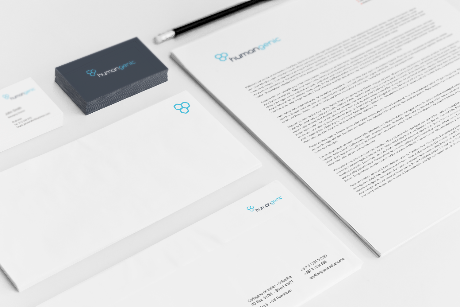Sample branding #3 for Humangenic
