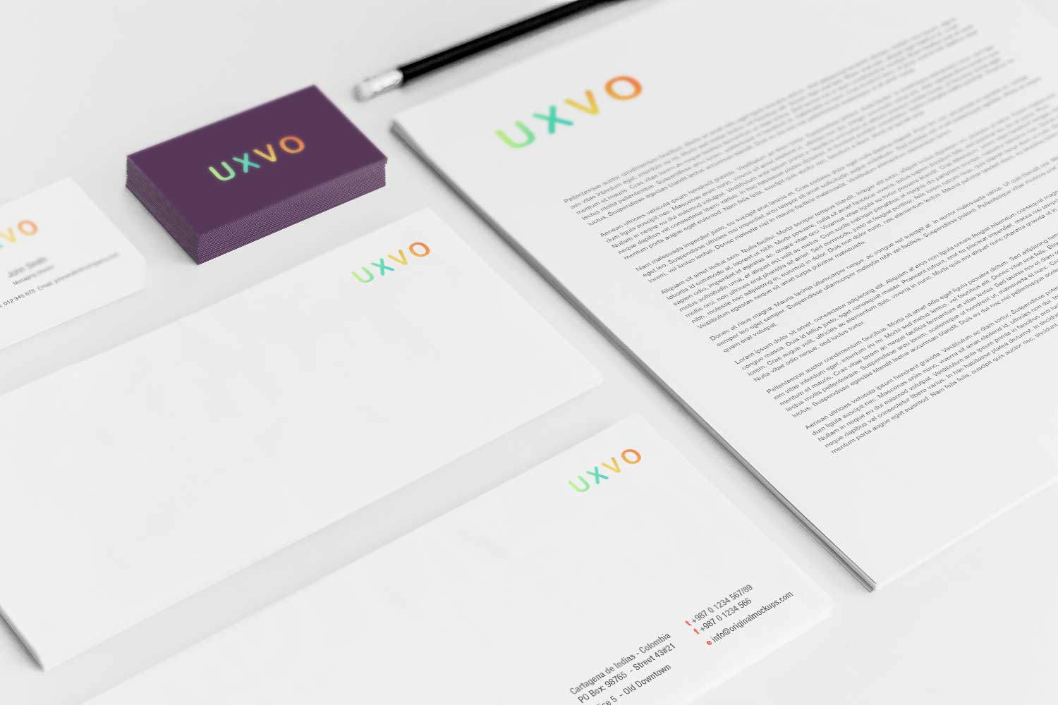 Sample branding #3 for Uxvo