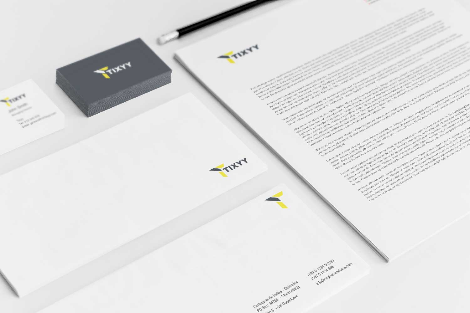 Sample branding #3 for Tixyy