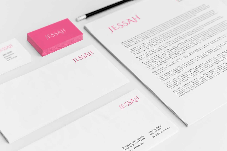 Sample branding #3 for Jessah