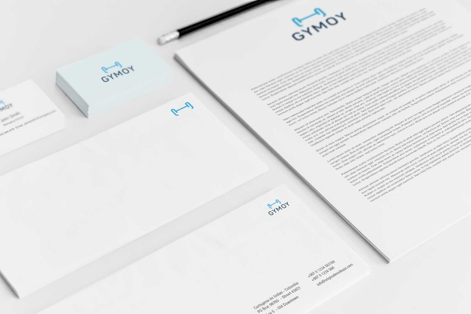 Sample branding #3 for Gymoy