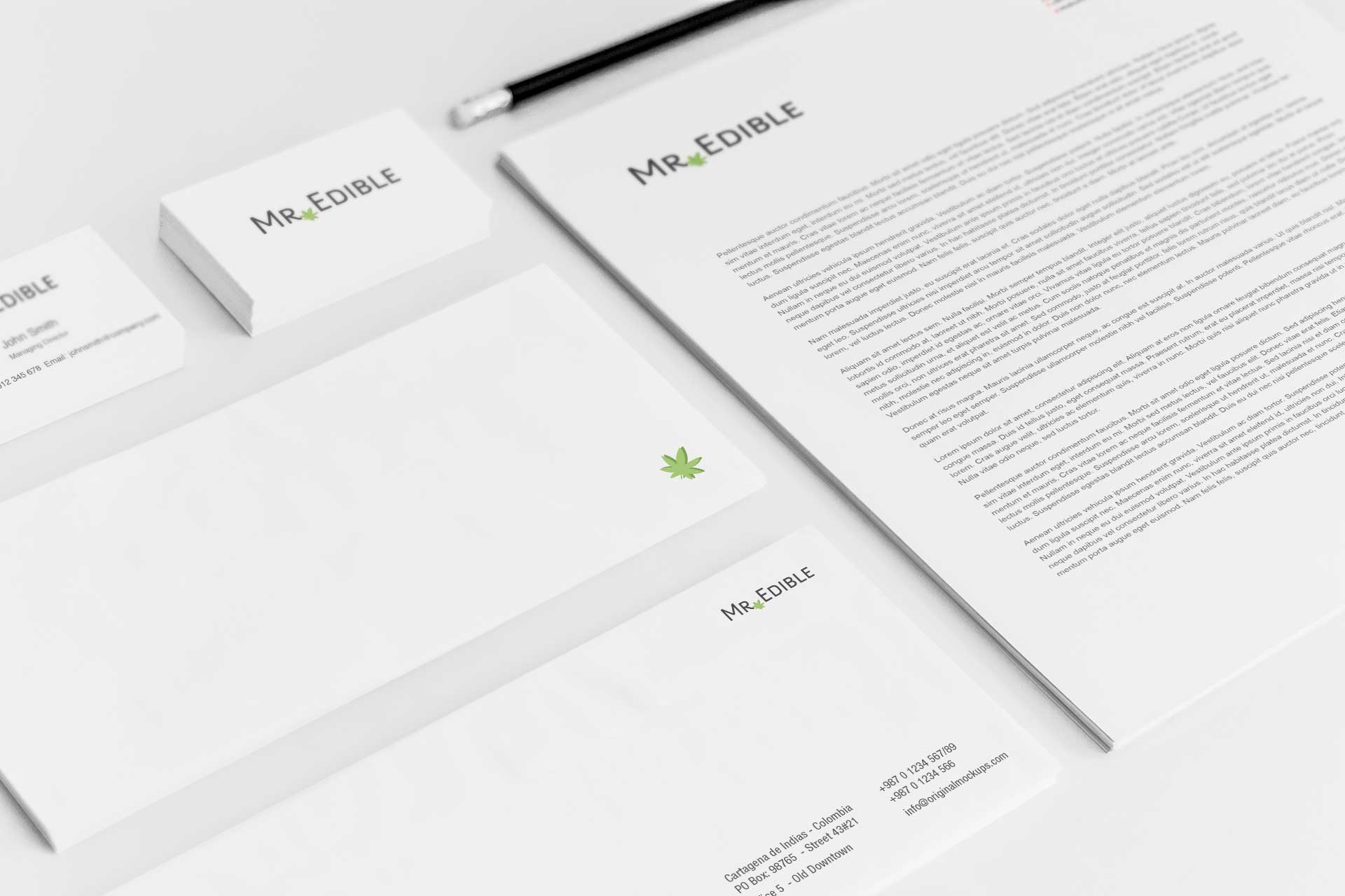 Sample branding #3 for Mredible