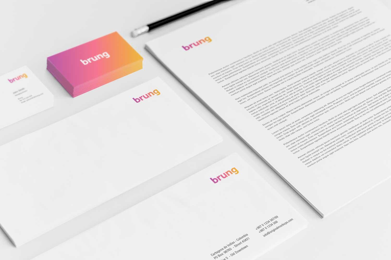 Sample branding #3 for Brung