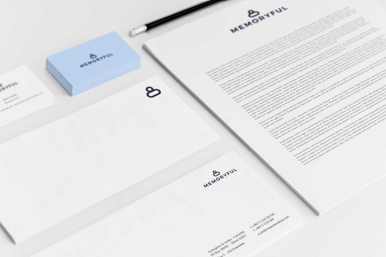 Sample branding #3 for Memoryful
