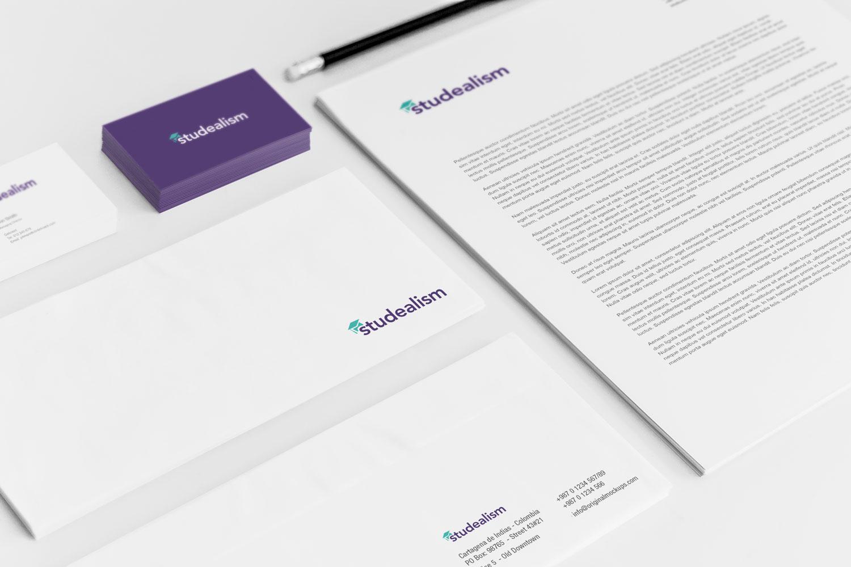Sample branding #2 for Studealism