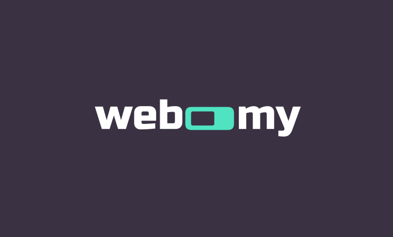 Webomy - Brand name for a company in tech