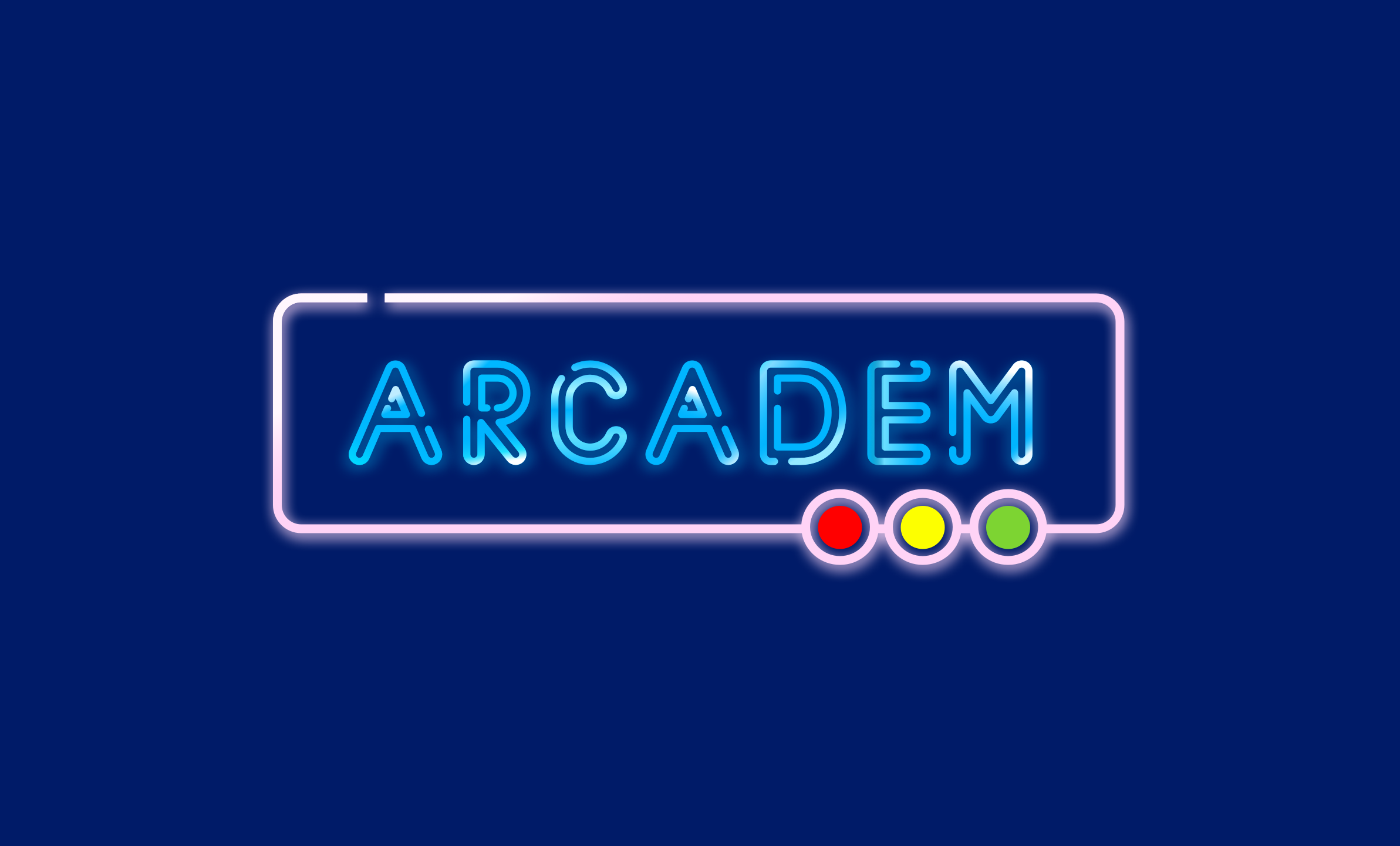 arcadem logo - Brilliant name for an arcade