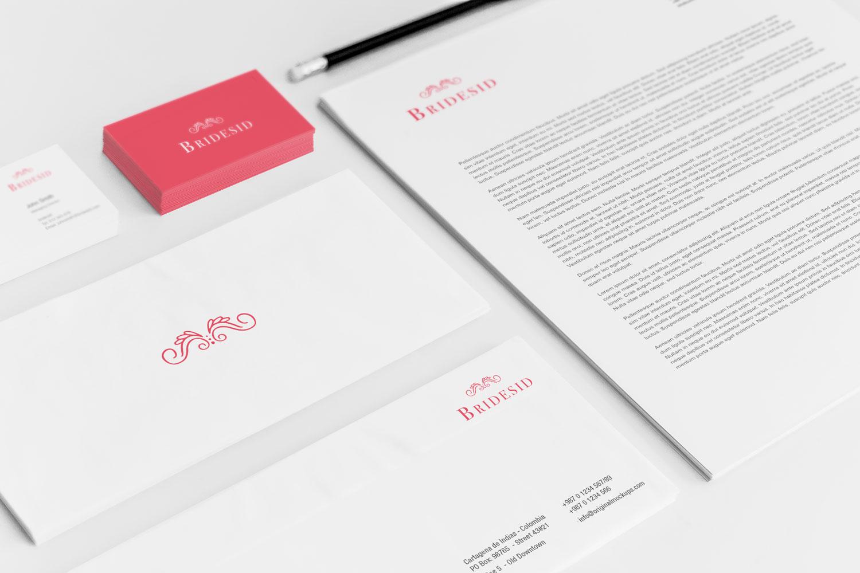 Sample branding #3 for Bridesid