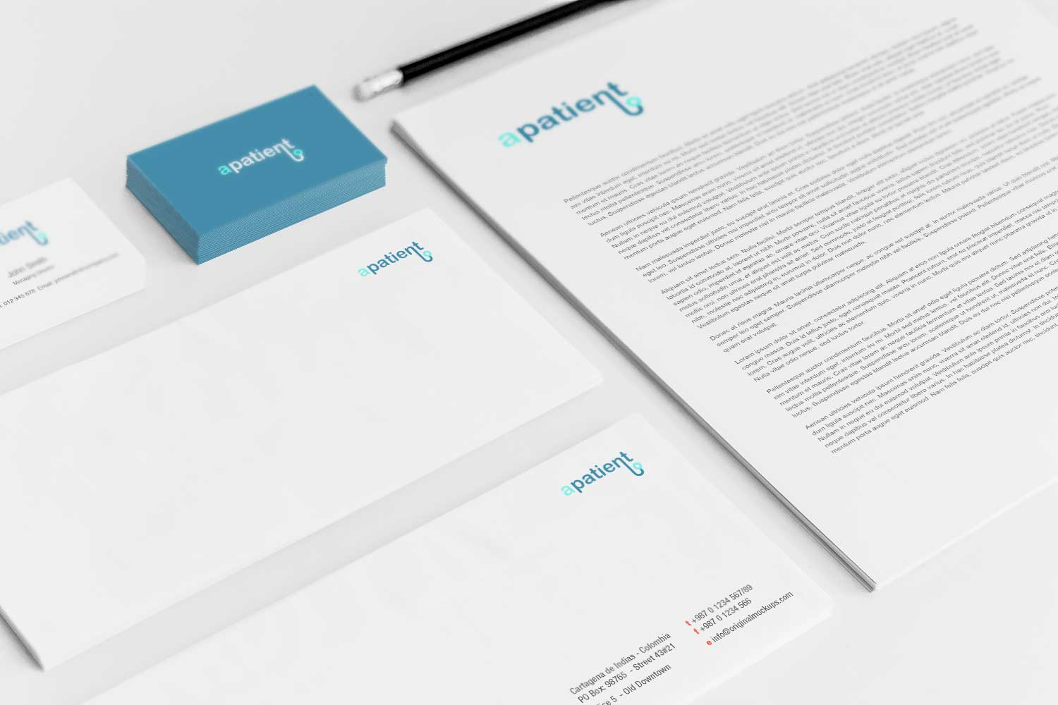 Sample branding #3 for Apatient
