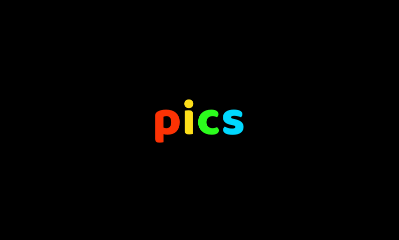 pics logo - Business name for a company in the creative industry