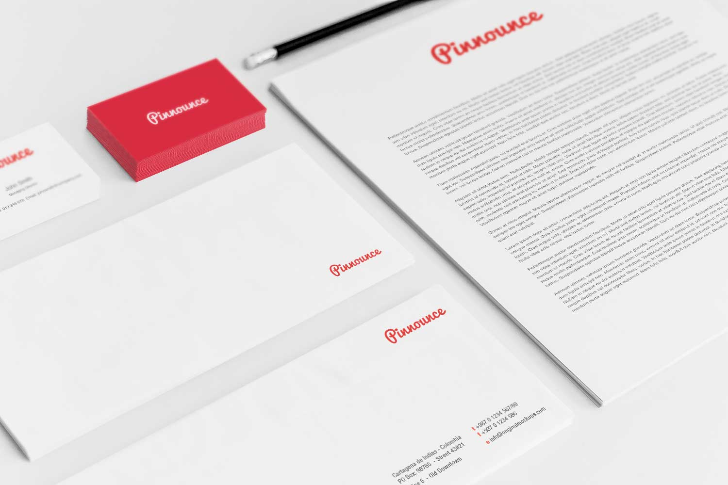 Sample branding #3 for Pinnounce