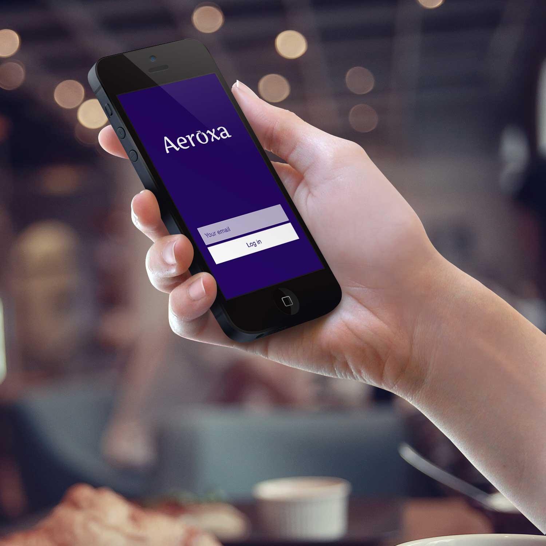 Sample branding #1 for Aeroxa