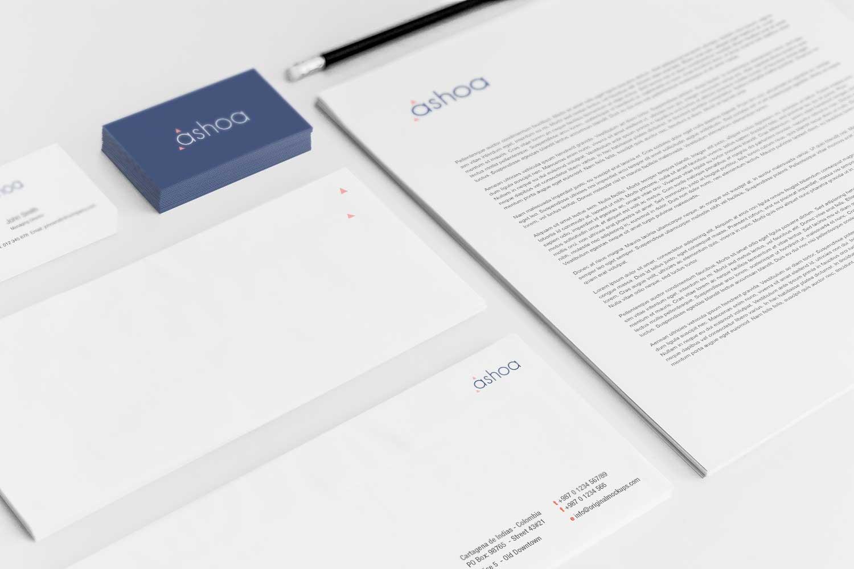 Sample branding #3 for Ashoa