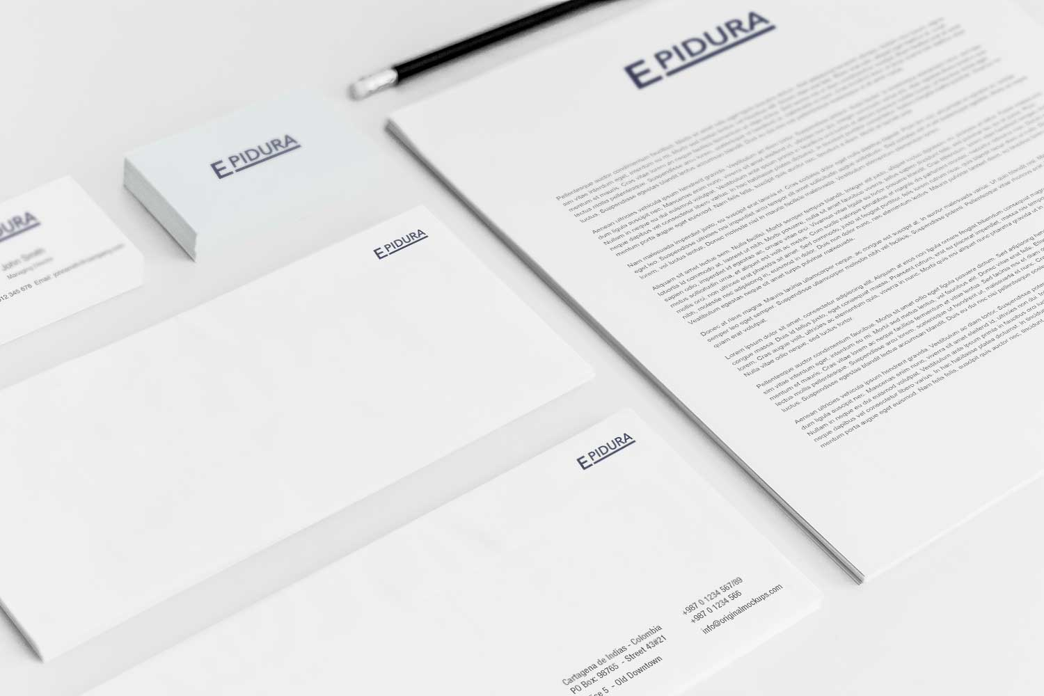 Sample branding #3 for Epidura