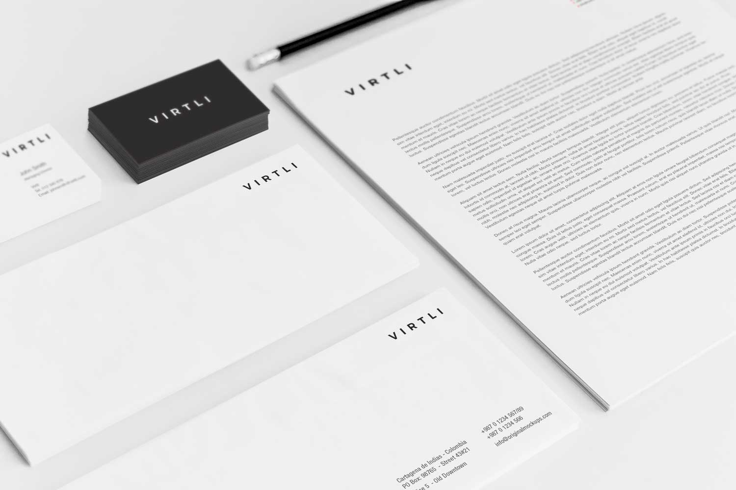 Sample branding #3 for Virtli