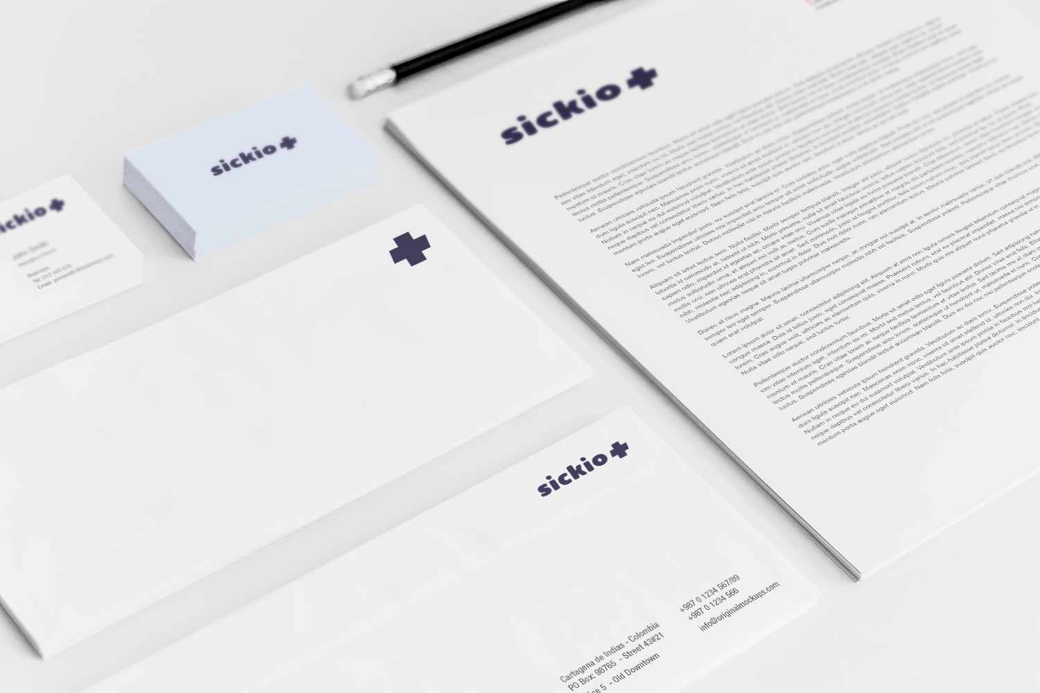 Sample branding #3 for Sickio