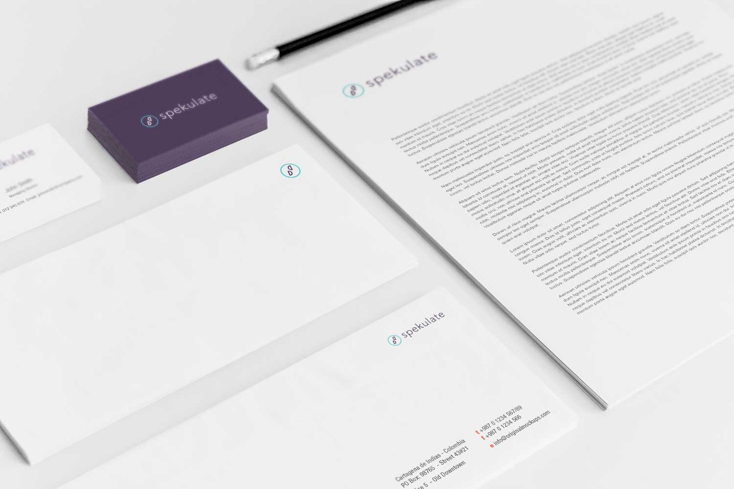 Sample branding #3 for Spekulate