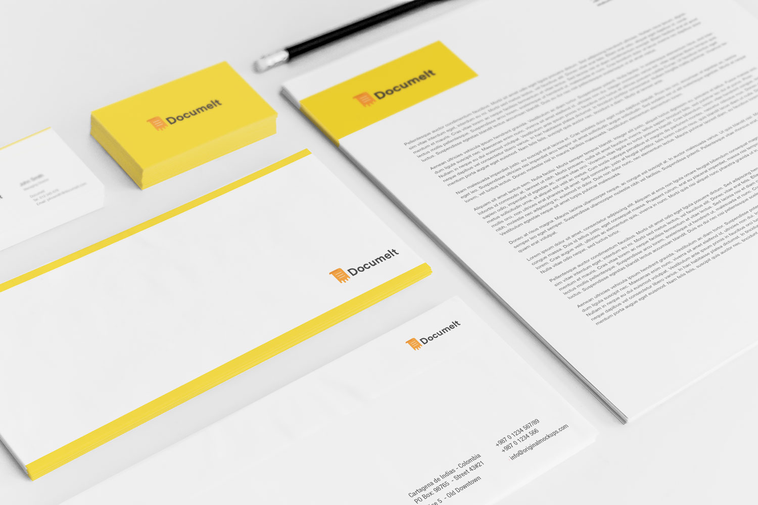 Sample branding #2 for Documelt