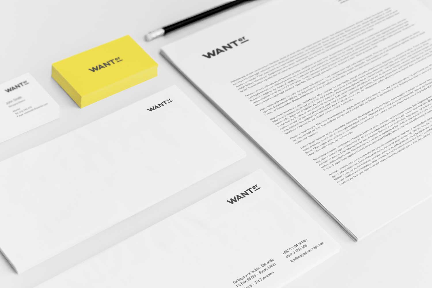 Sample branding #3 for Wanter