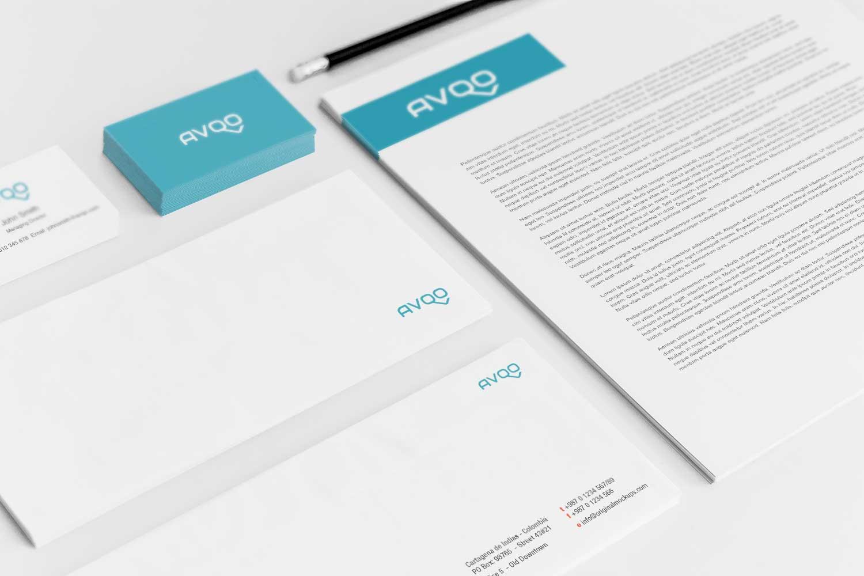 Sample branding #3 for Avqo